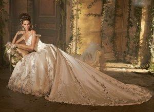 Svadobné šaty, čo sa mi páčia :) - Obrázok č. 14
