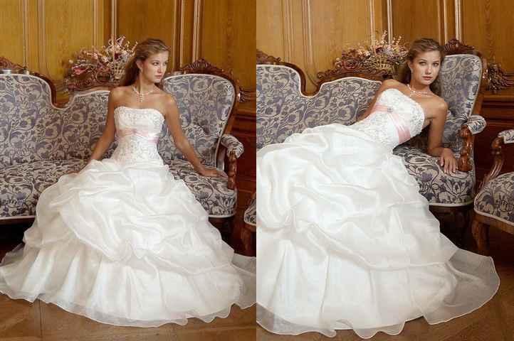 Svadobné šaty, čo sa mi páčia :) - Obrázok č. 20