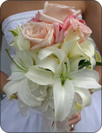 Once upon a time...my wedding dreams - moje krásne ľalie