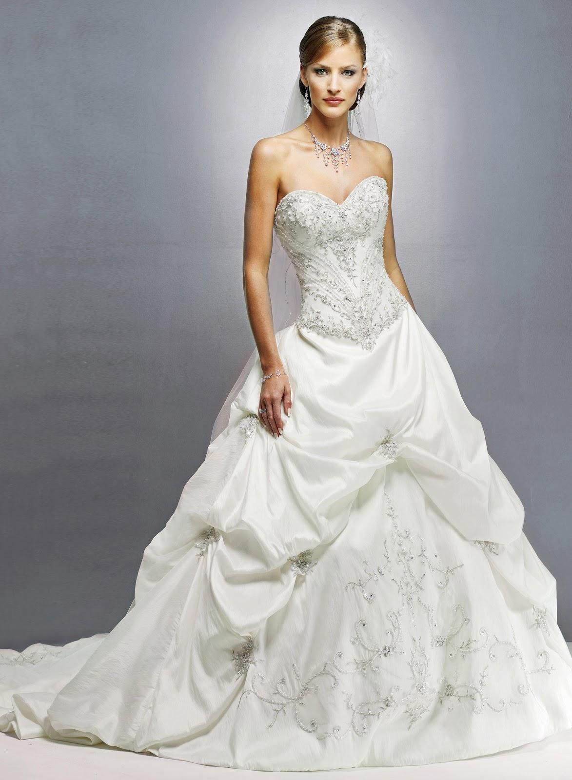 Svadobné šaty, čo sa mi páčia :) - Obrázok č. 32