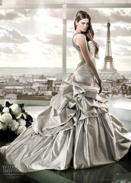 Svadobné šaty, čo sa mi páčia :) - Obrázok č. 43