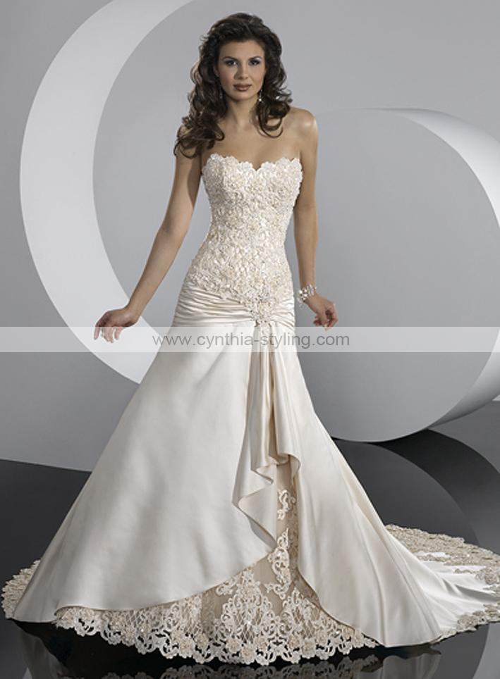 Svadobné šaty, čo sa mi páčia :) - Obrázok č. 45