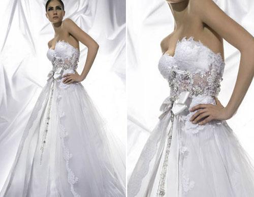 Svadobné šaty, čo sa mi páčia :) - Obrázok č. 46