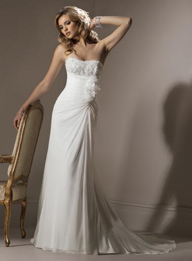 Svadobné šaty, čo sa mi páčia :) - Obrázok č. 47