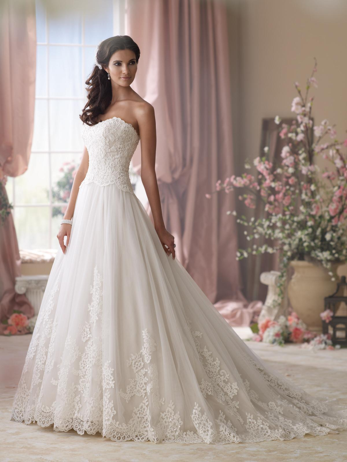 Svadobné šaty, čo sa mi páčia :) - Obrázok č. 52
