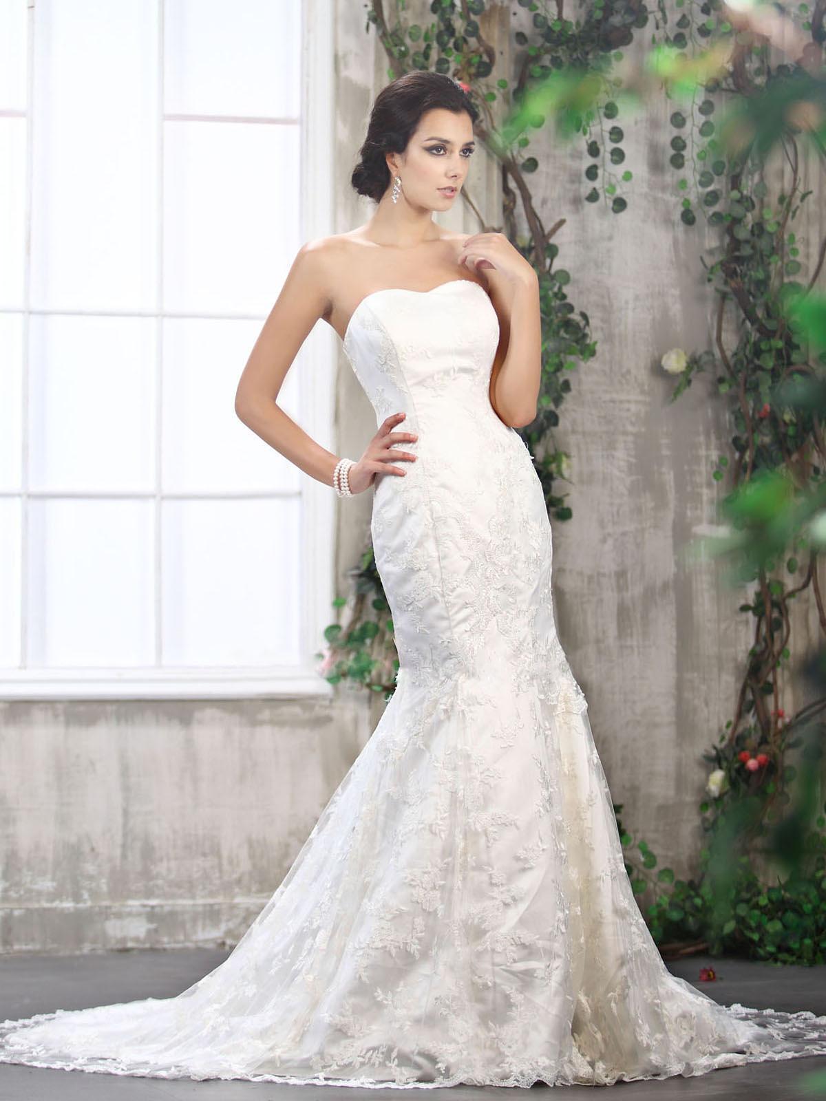Svadobné šaty, čo sa mi páčia :) - Obrázok č. 56