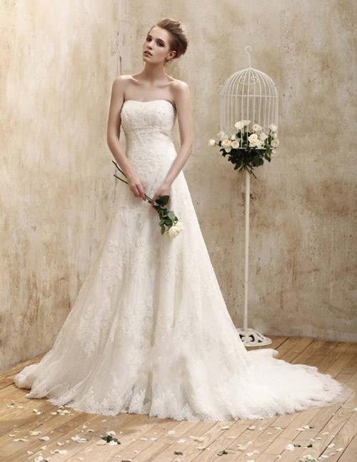Svadobné šaty, čo sa mi páčia :) - Obrázok č. 62