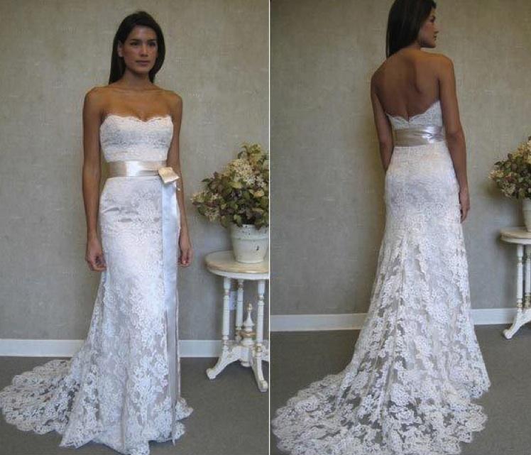 Svadobné šaty, čo sa mi páčia :) - Obrázok č. 66