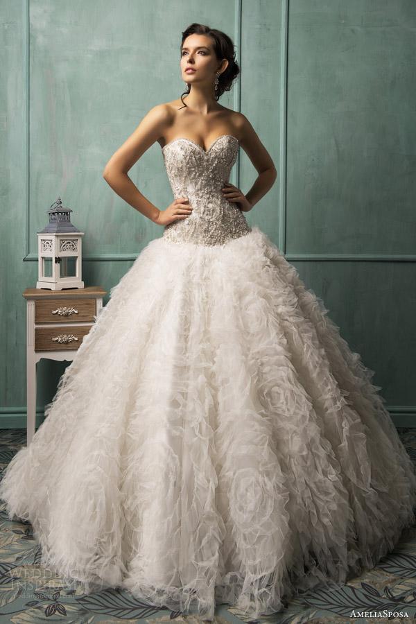 Svadobné šaty, čo sa mi páčia :) - Obrázok č. 78