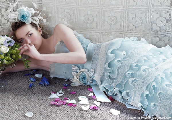 Svadobné šaty, čo sa mi páčia :) - Obrázok č. 81