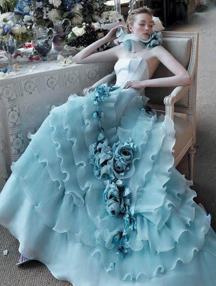 Svadobné šaty, čo sa mi páčia :) - Obrázok č. 94