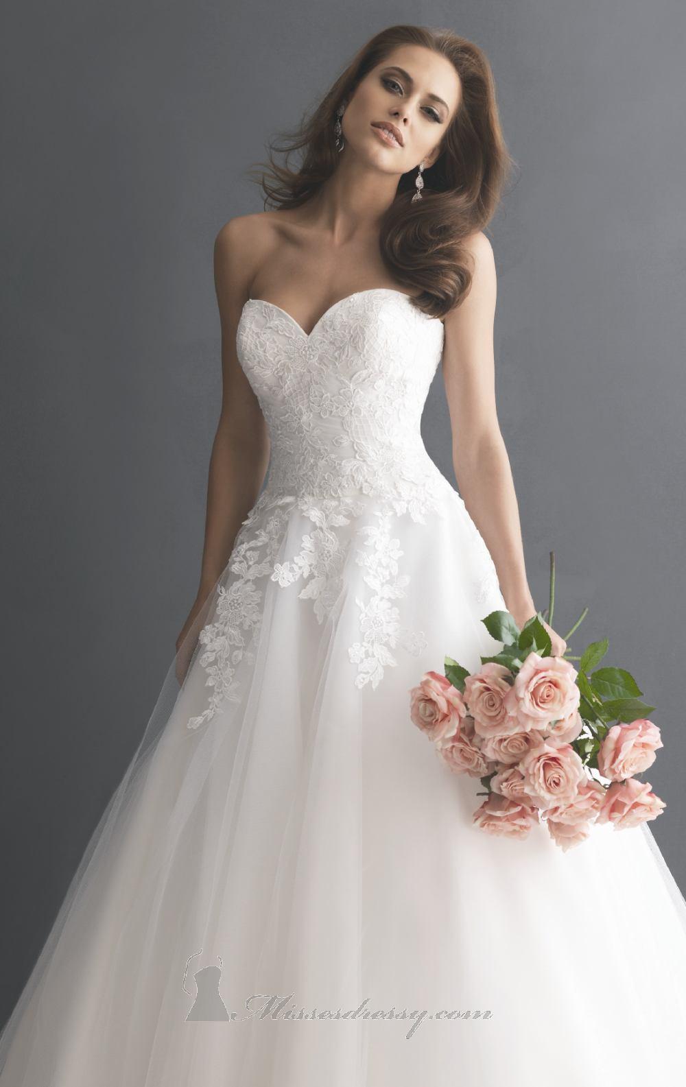 Svadobné šaty, čo sa mi páčia :) - Obrázok č. 397