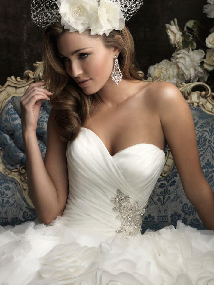 Svadobné šaty, čo sa mi páčia :) - Obrázok č. 416