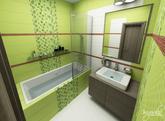 Viac obrázkov na: http://www.kupelnovy-manual.sk/v-zeleno-hnedych-tonoch/