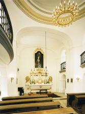 kaple zámku Kozel