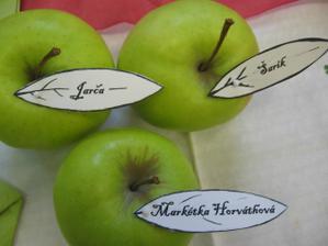 jablíčka měla úspěch