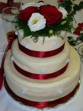 krásnej dortík, ne? a byl i mňam