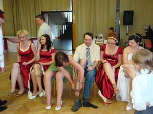 a hádání nevěsty podle kolena