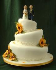 podobný bude náš svatební dort