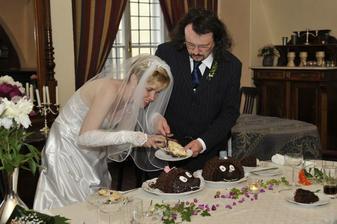 naše svatební dorty