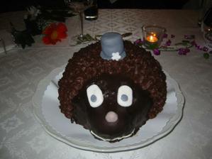 """svatební dort """"ženich"""""""