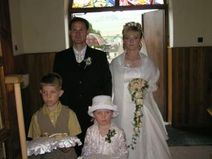 príchod do kostola