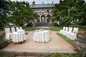 Vila Čerych - překrásné místo pro svatbu :-).