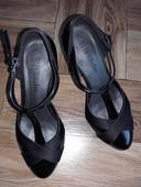Společenské boty s vyšším podpatkem, 37