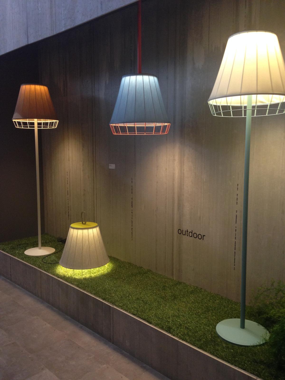 """Milano - Euroluce 2015, aneb """"Budiž světlo"""" - Venkovní lampa - super!"""