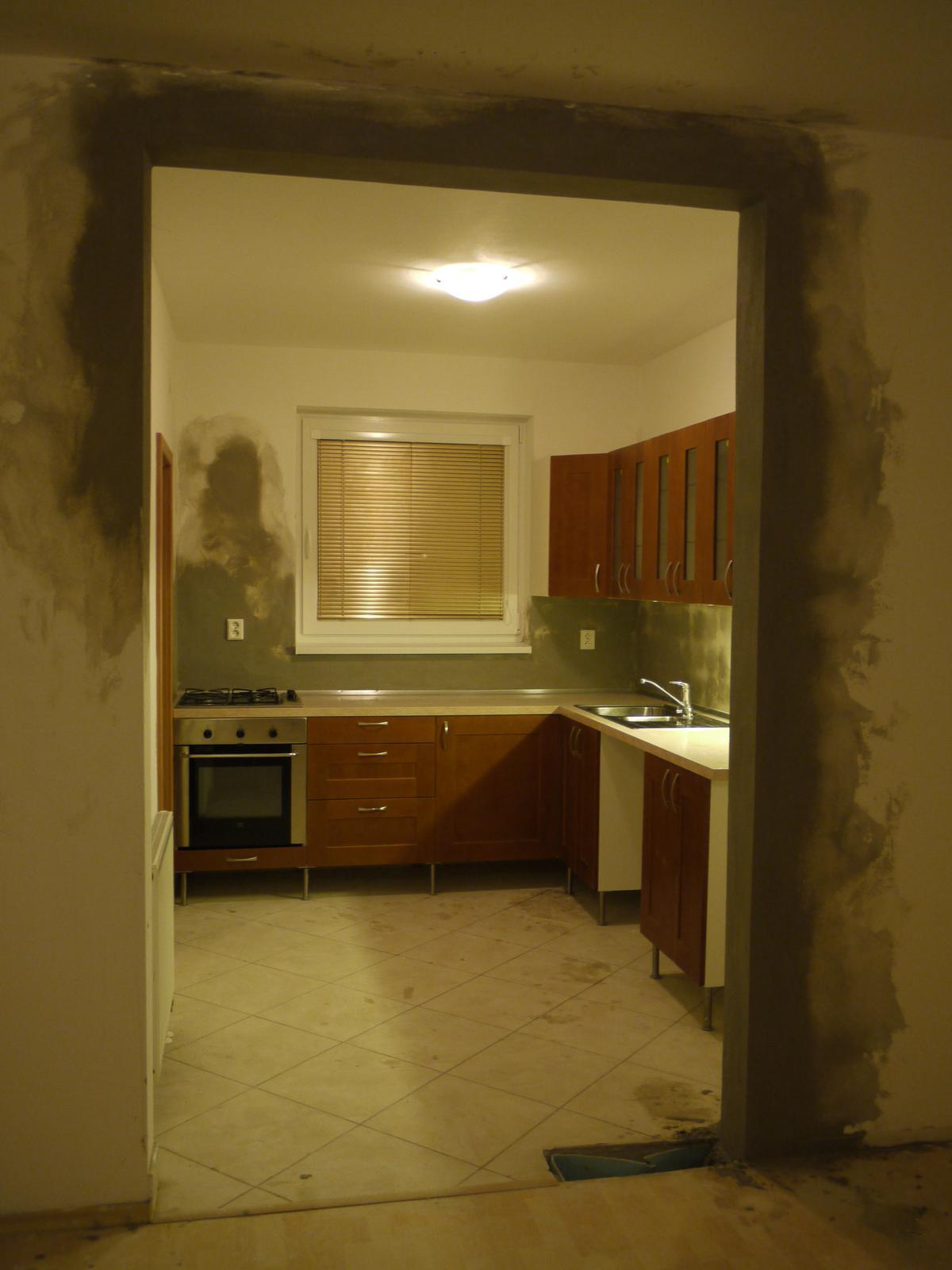 Proměny naší kuchyně - už takhle 100x lepší než původní stav