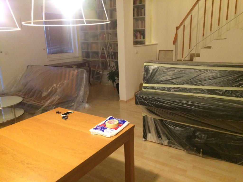 Renovace schodiště - kdo je připraven, není překvapen...