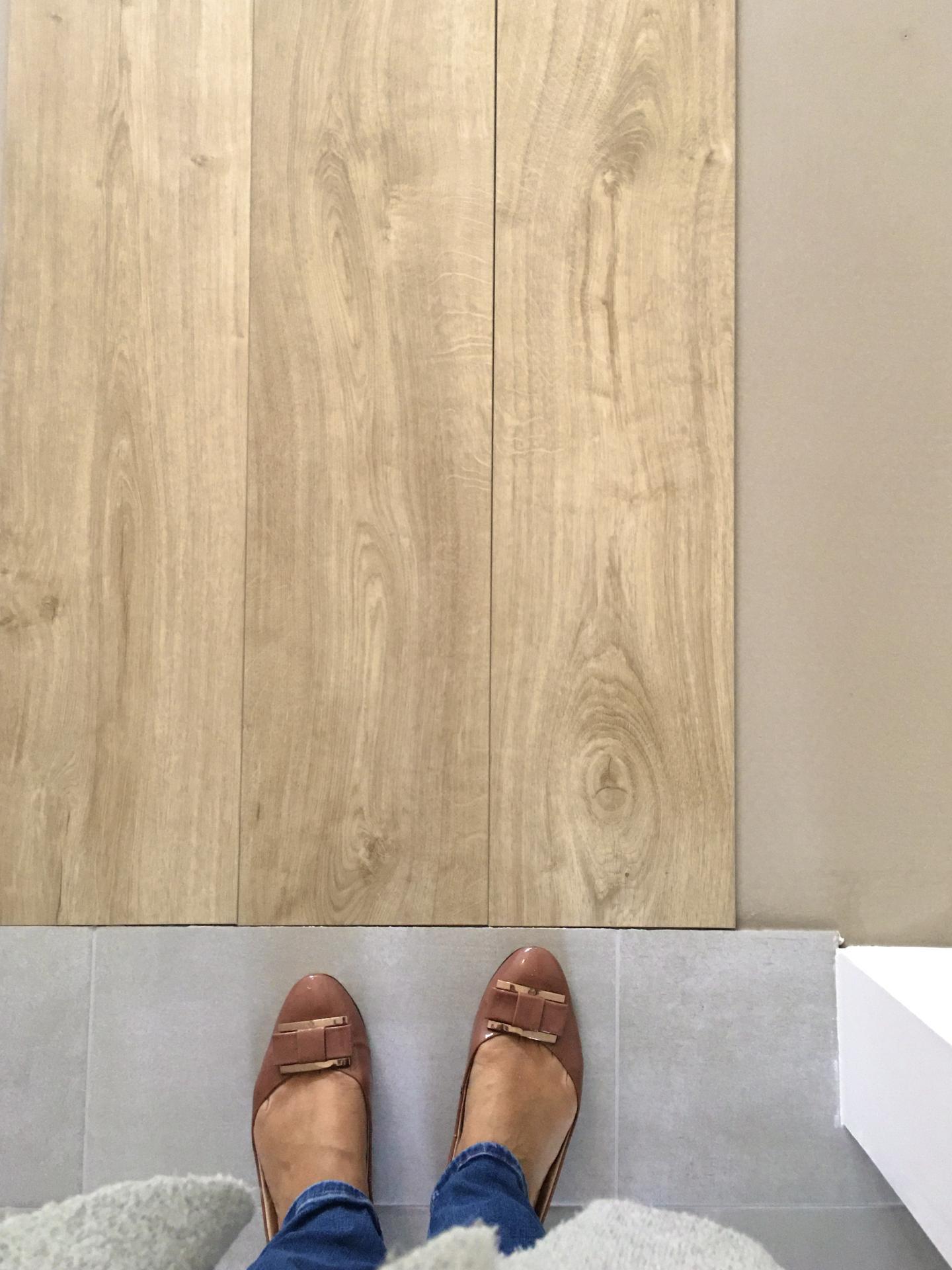 Proměny naší kuchyně - Vybraná podlaha
