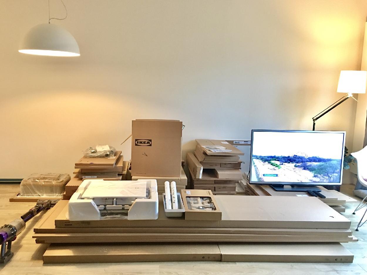 Proměny naší kuchyně - Ikea Voxtorp. Vítej u nás :-)