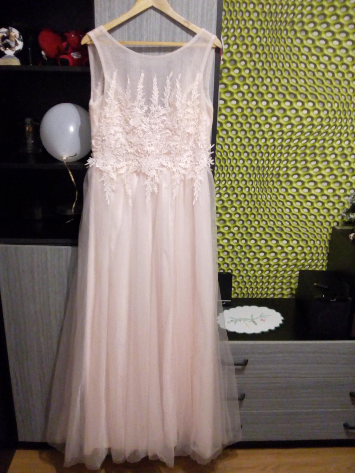 Bledoružové šaty - Obrázok č. 1