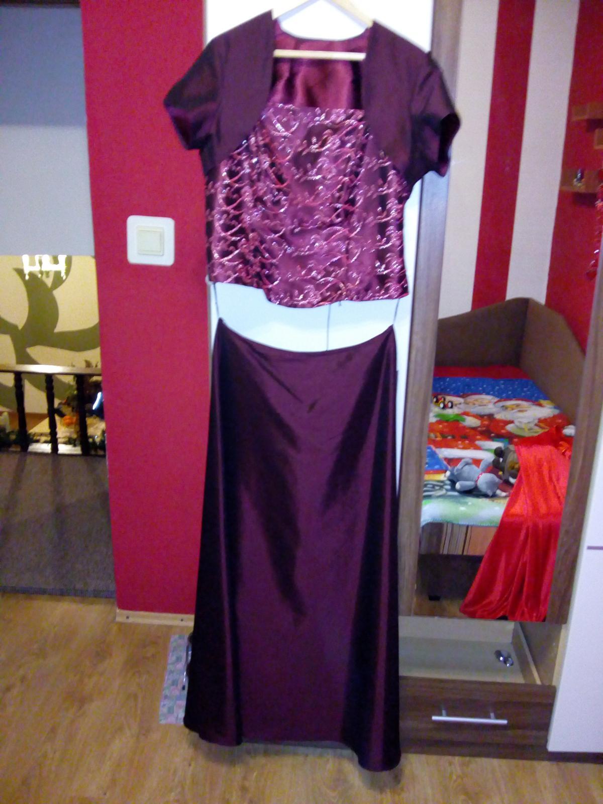 Sukňa s topom na šnurovanie + bolerko - Obrázok č. 1