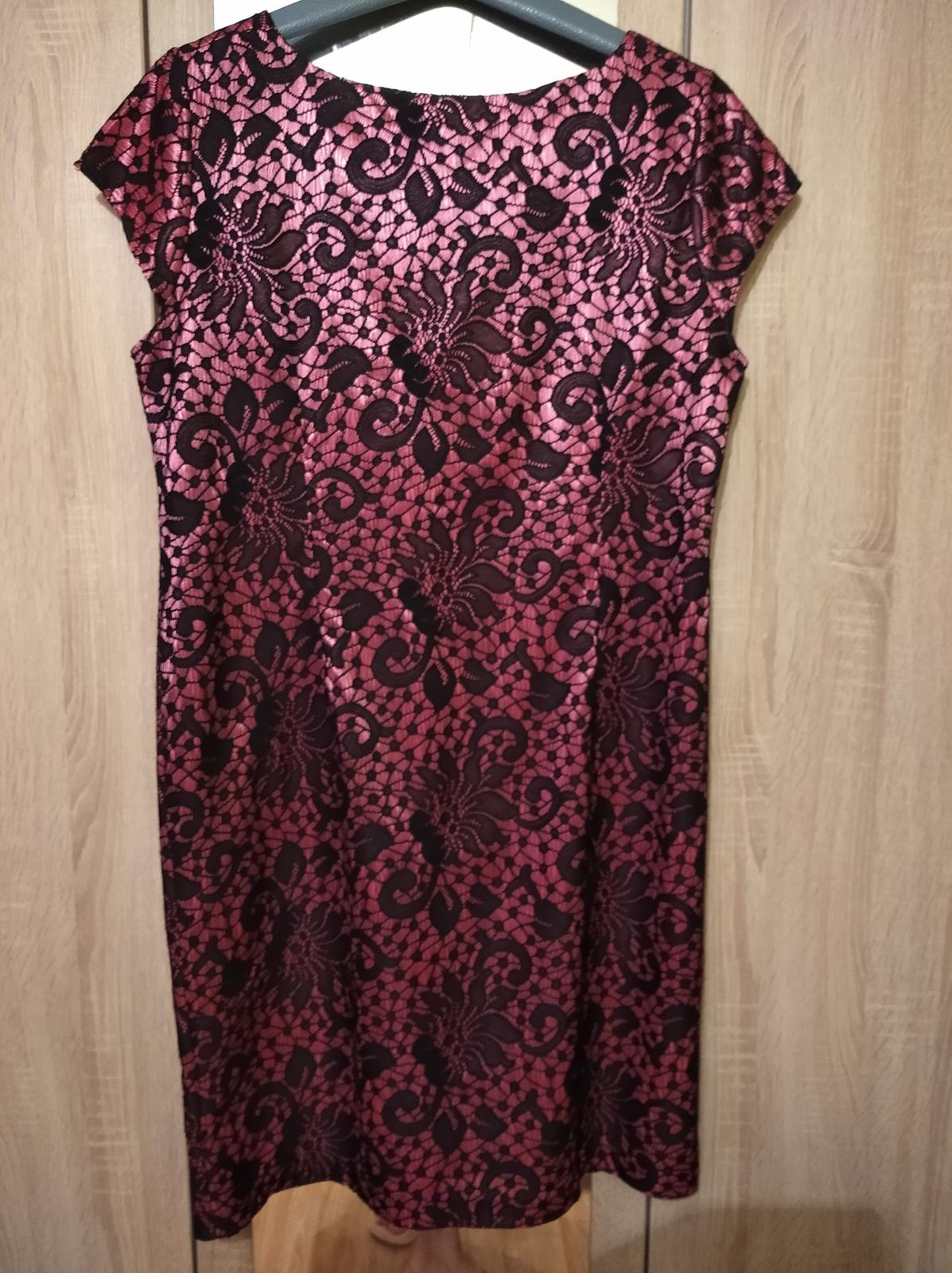 Spoločenské šaty veľkosť.50 - Obrázok č. 1