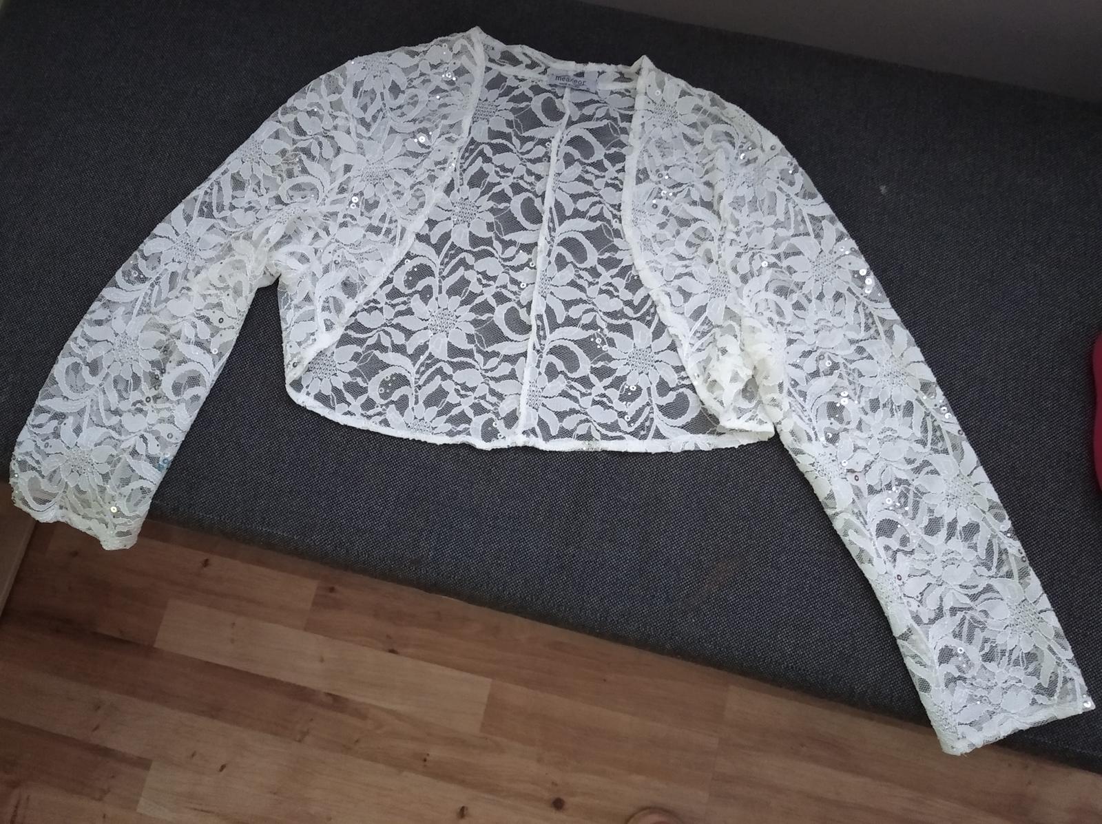Bolerko k spoločenským šatám - Obrázok č. 1