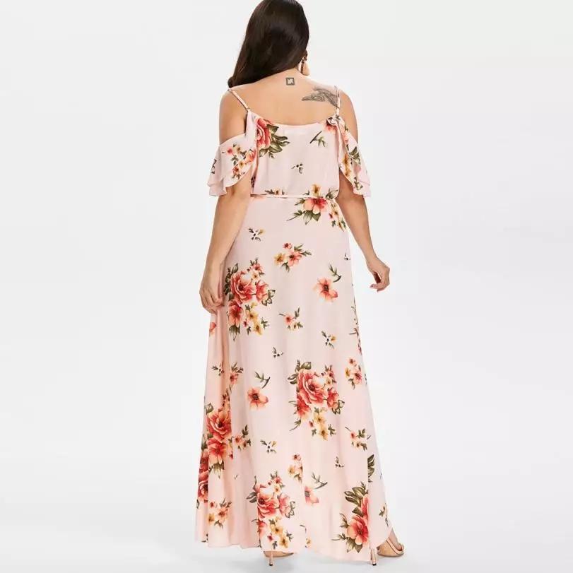 Dámske bledo ružové šaty veľkosť 48 - Obrázok č. 4