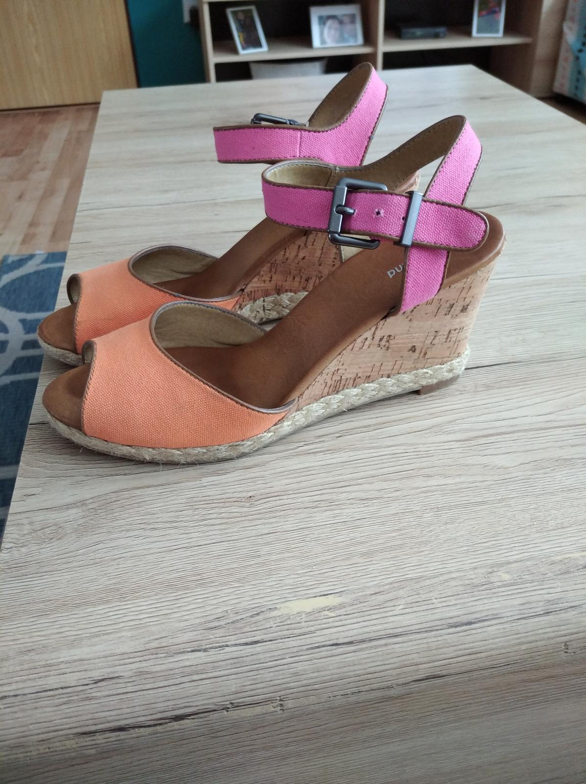 Dámske sandále veľkosť 41 - Obrázok č. 1