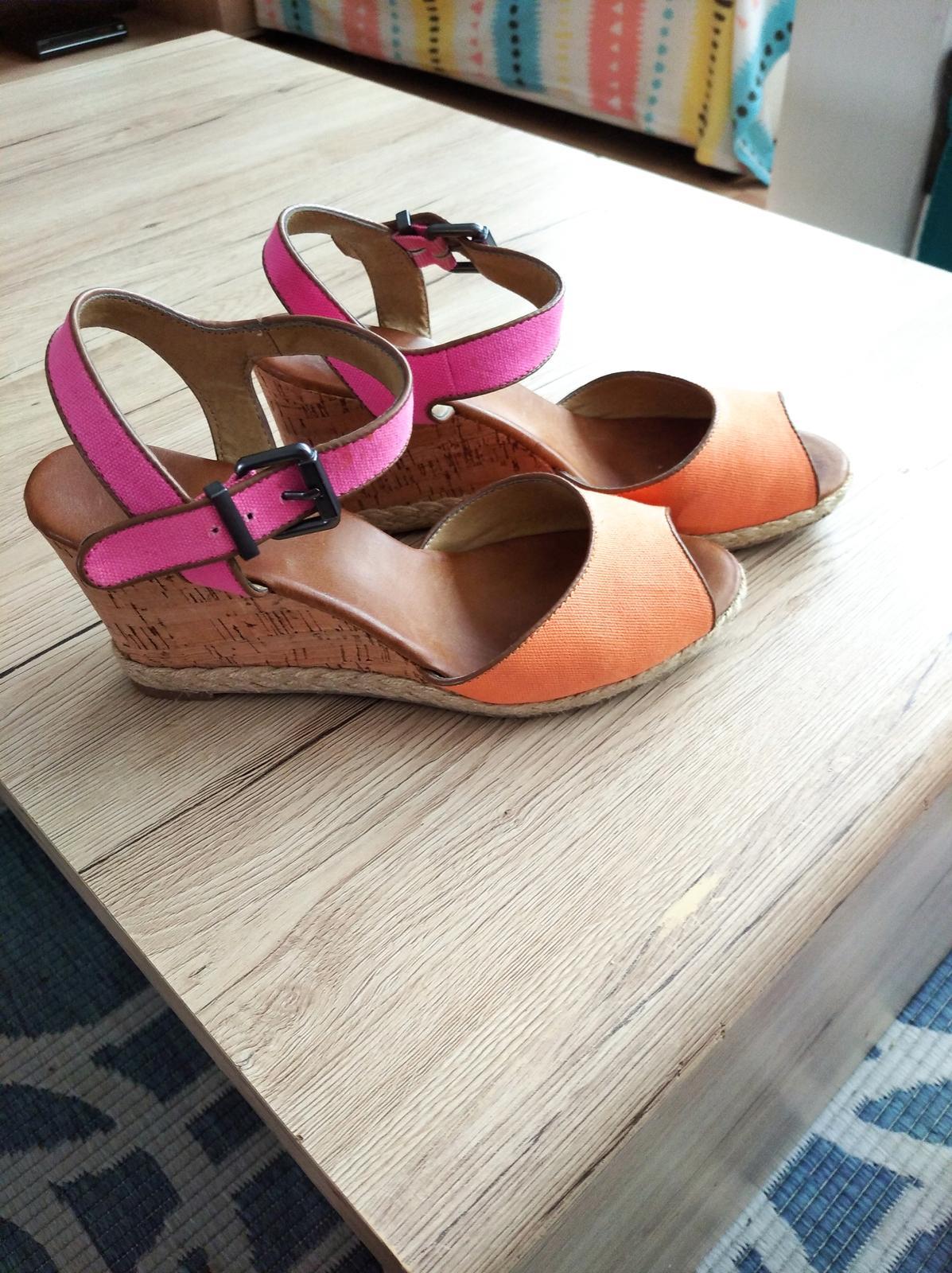 Dámske sandále veľkosť 41 - Obrázok č. 2