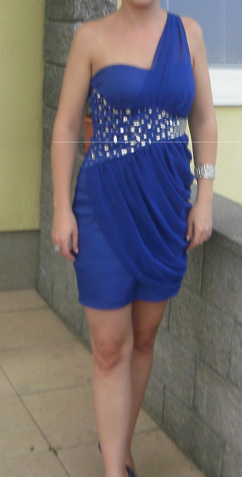 modre šaty - Obrázok č. 1