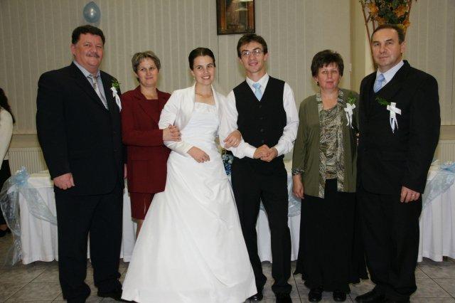 Martina Schlosserová{{_AND_}}Peter Palko - s našimi rodičmi :)