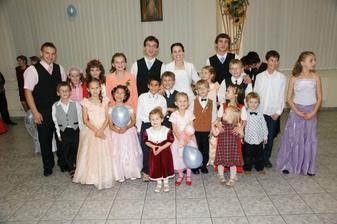 deti, ktoré boli na svadbe :)