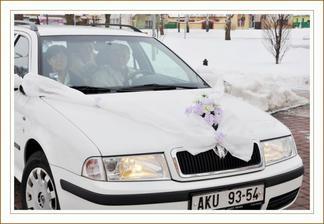 Foto Hanka Skácelová - šerpa - auto nevěsty