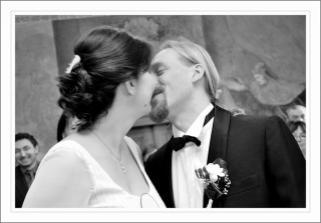Foto Hanka Skácelová - tradiční polibek