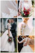 Elegantné svadobné šaty , 37