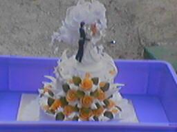 Michaela{{_AND_}}Marián Bartovci - naša hlavná torta - bola prekrásna!