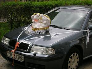 moje svadobné auto - ďakujem Marcel:-)