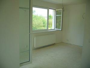 obývák , ještě bez podlahy