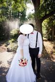 Svatební šaty s krajkou, 48
